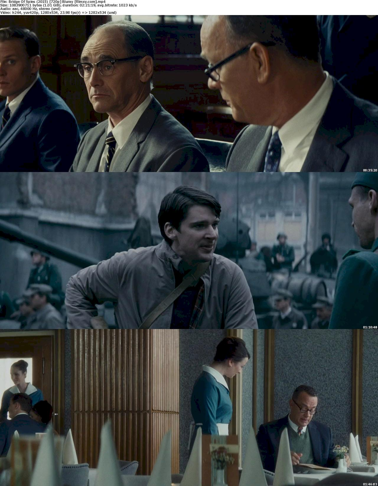 Bridge Of Spies (2015) 720p & 1080p Bluray Free Download 720p Screenshot