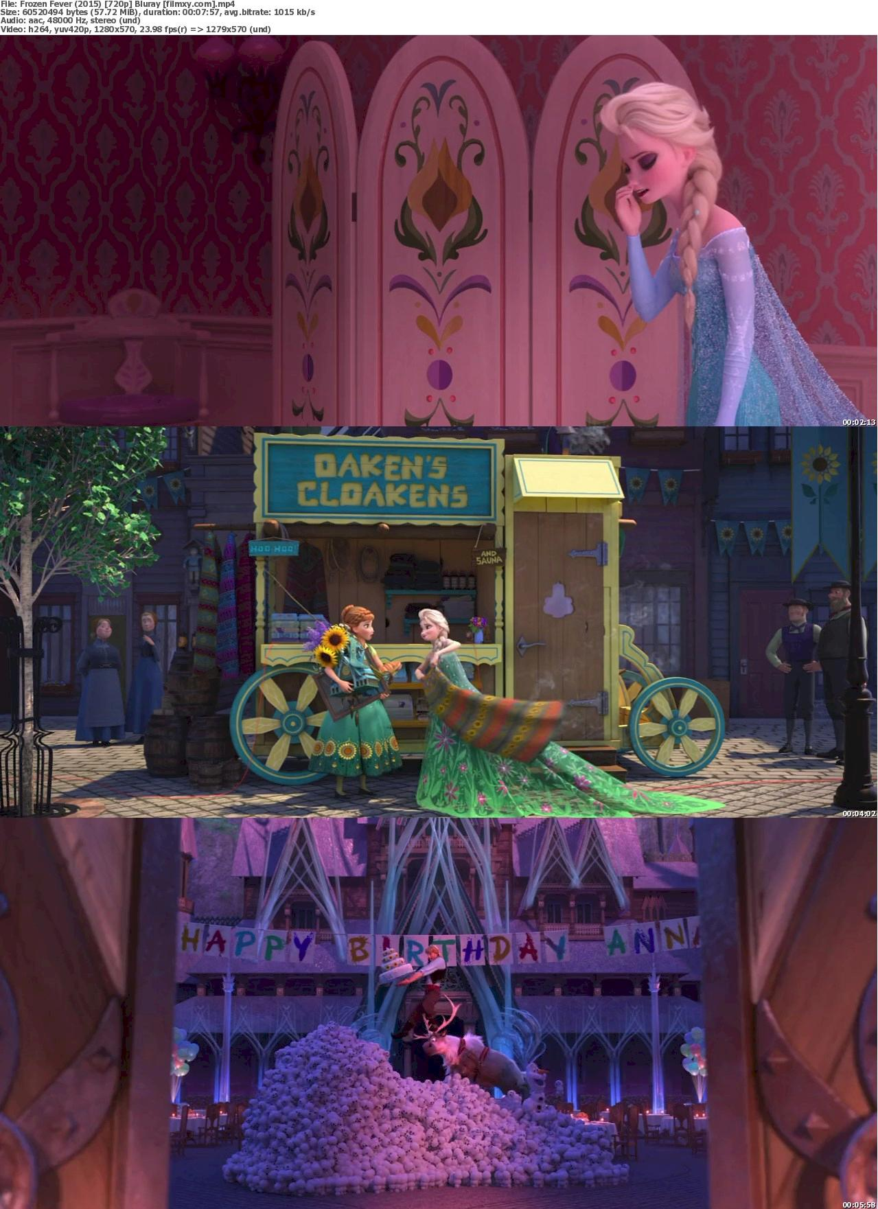 Frozen Fever (2015) 720p Bluray Free Download 720p Screenshot