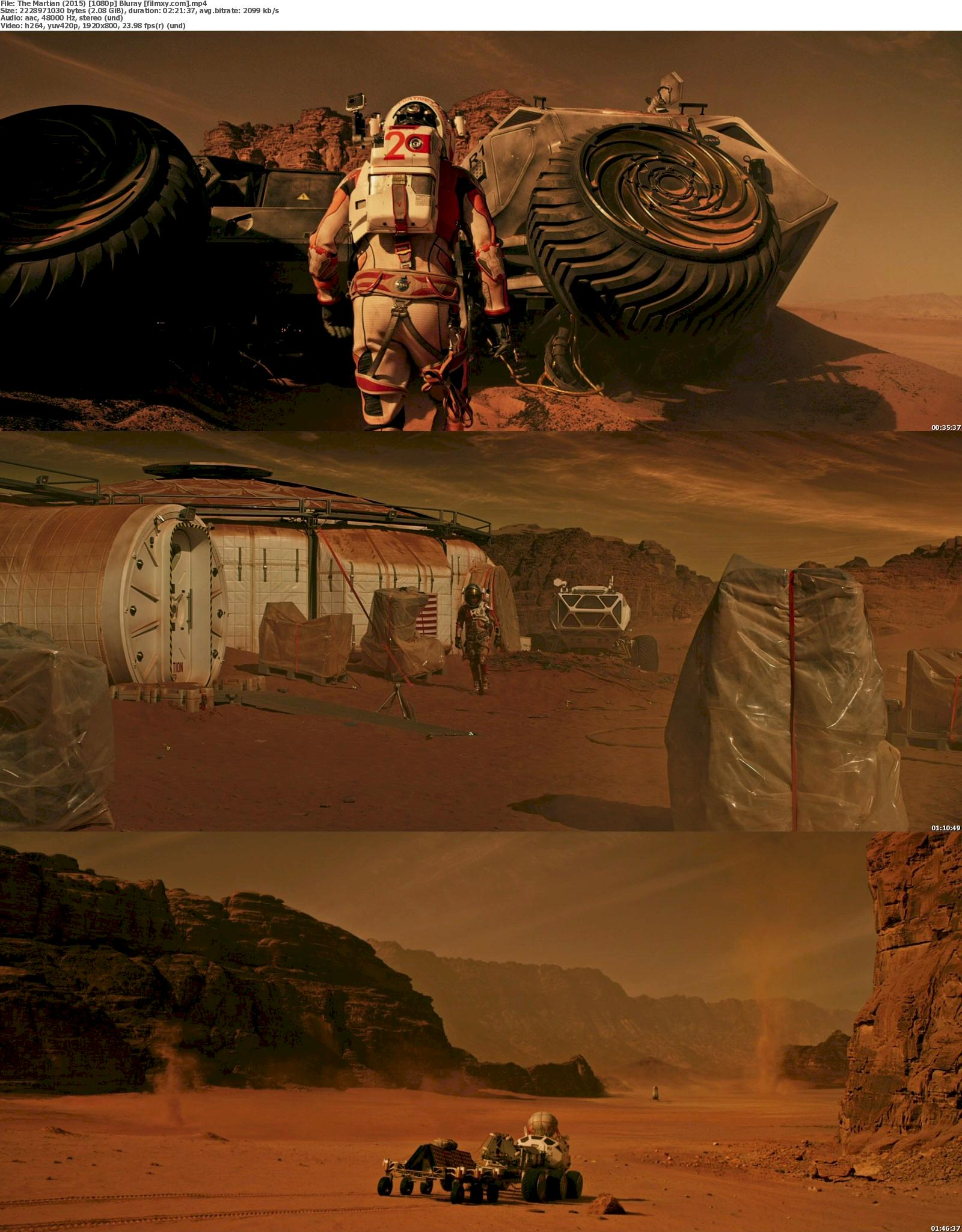 The Martian (2015) 720p & 1080p Bluray Free Download 1080p Screenshot