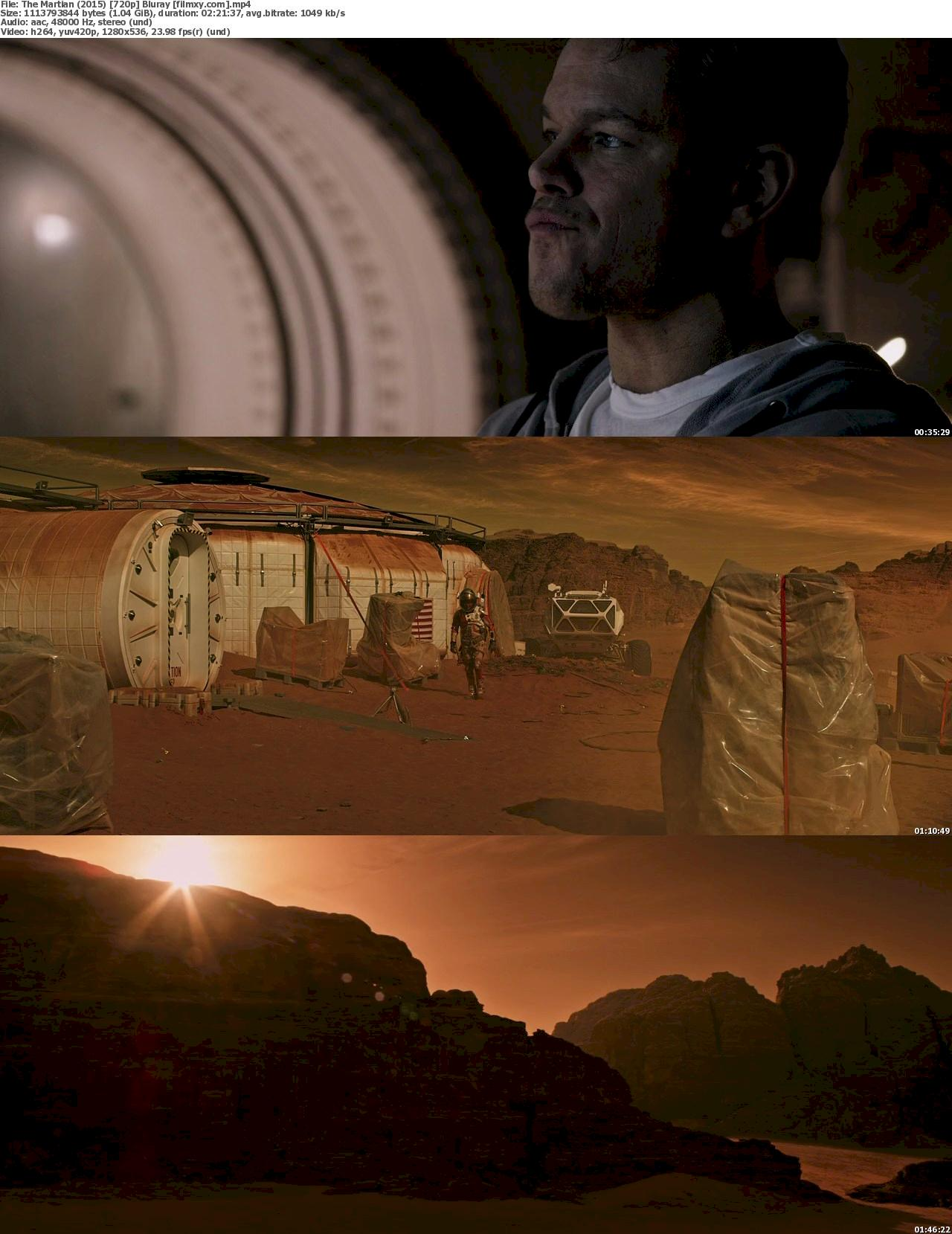 The Martian (2015) 720p & 1080p Bluray Free Download 720p Screenshot