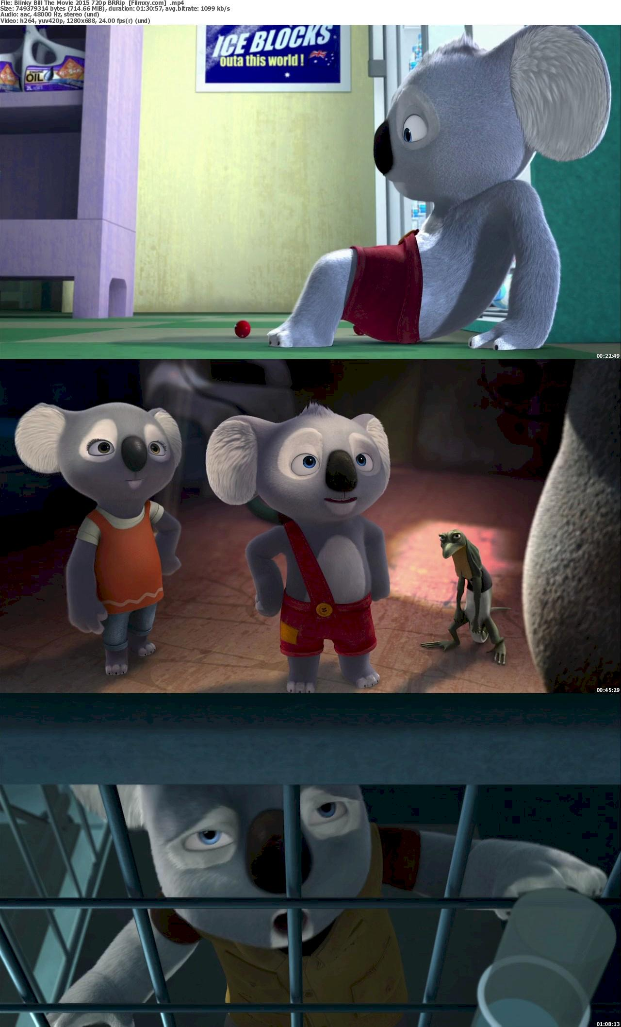 Blinky Bill The Movie (2015) 720p & 1080p BluRay Free Download 720p Screenshot