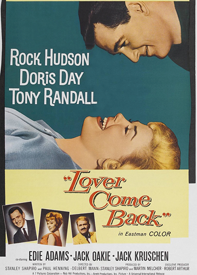 Lover Come Back (1961) cover