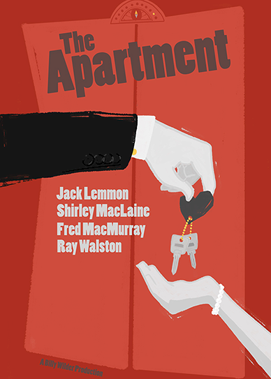 The Apartment (1960) cover