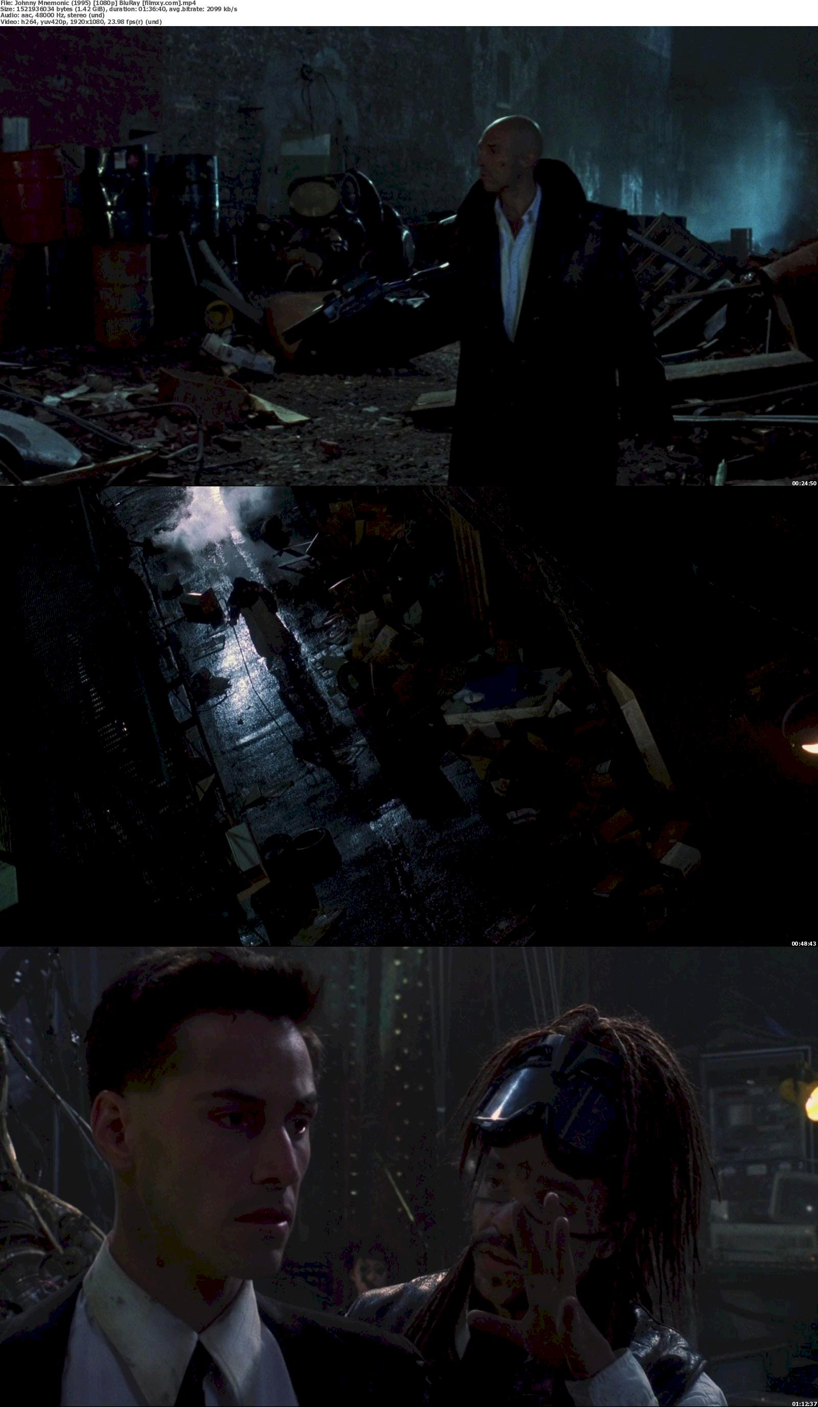 Johnny Mnemonic (1995) 720p &  1080p BluRay Free Download 1080p Screenshot