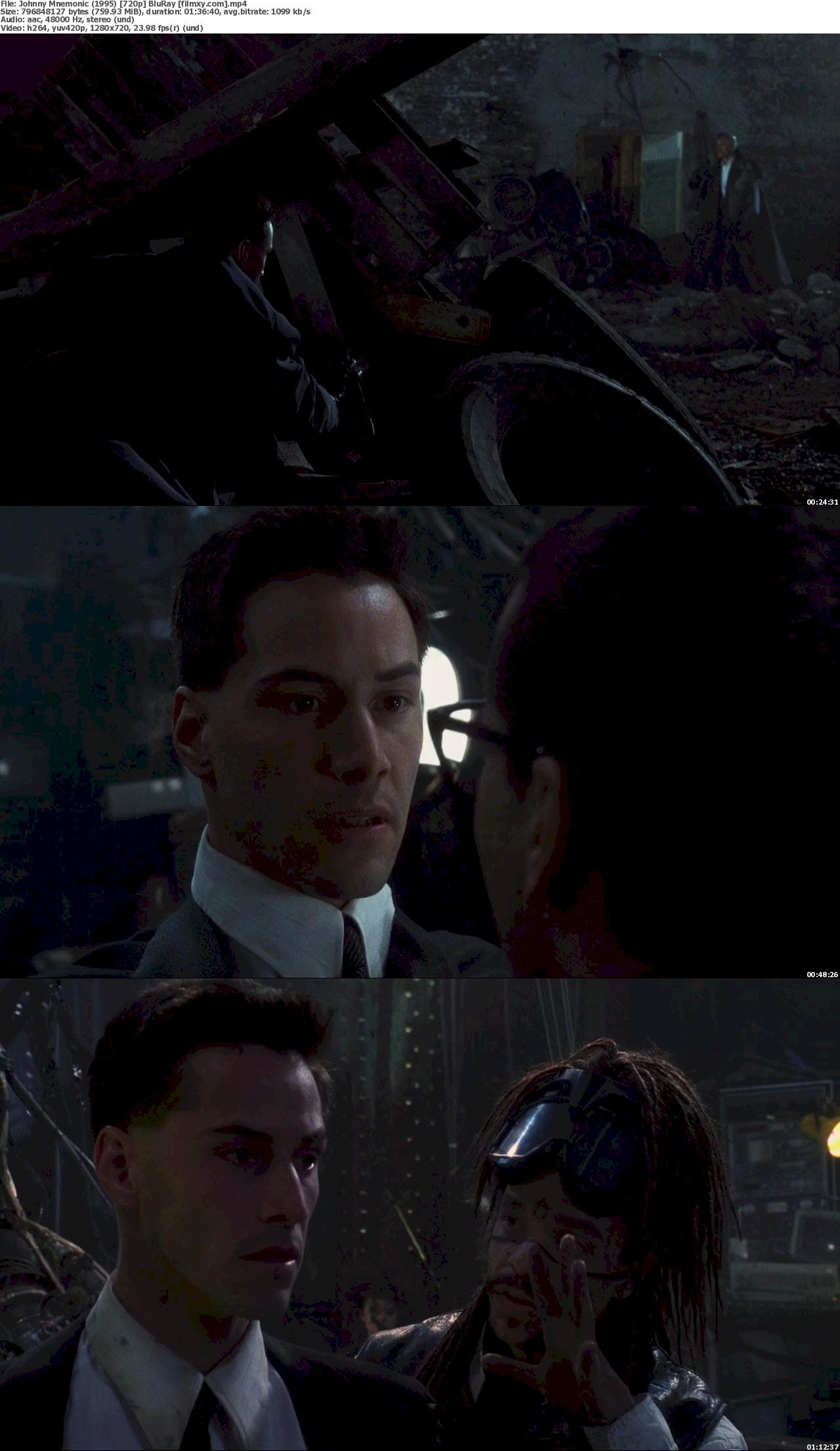 Johnny Mnemonic (1995) 720p &  1080p BluRay Free Download 720p Screenshot