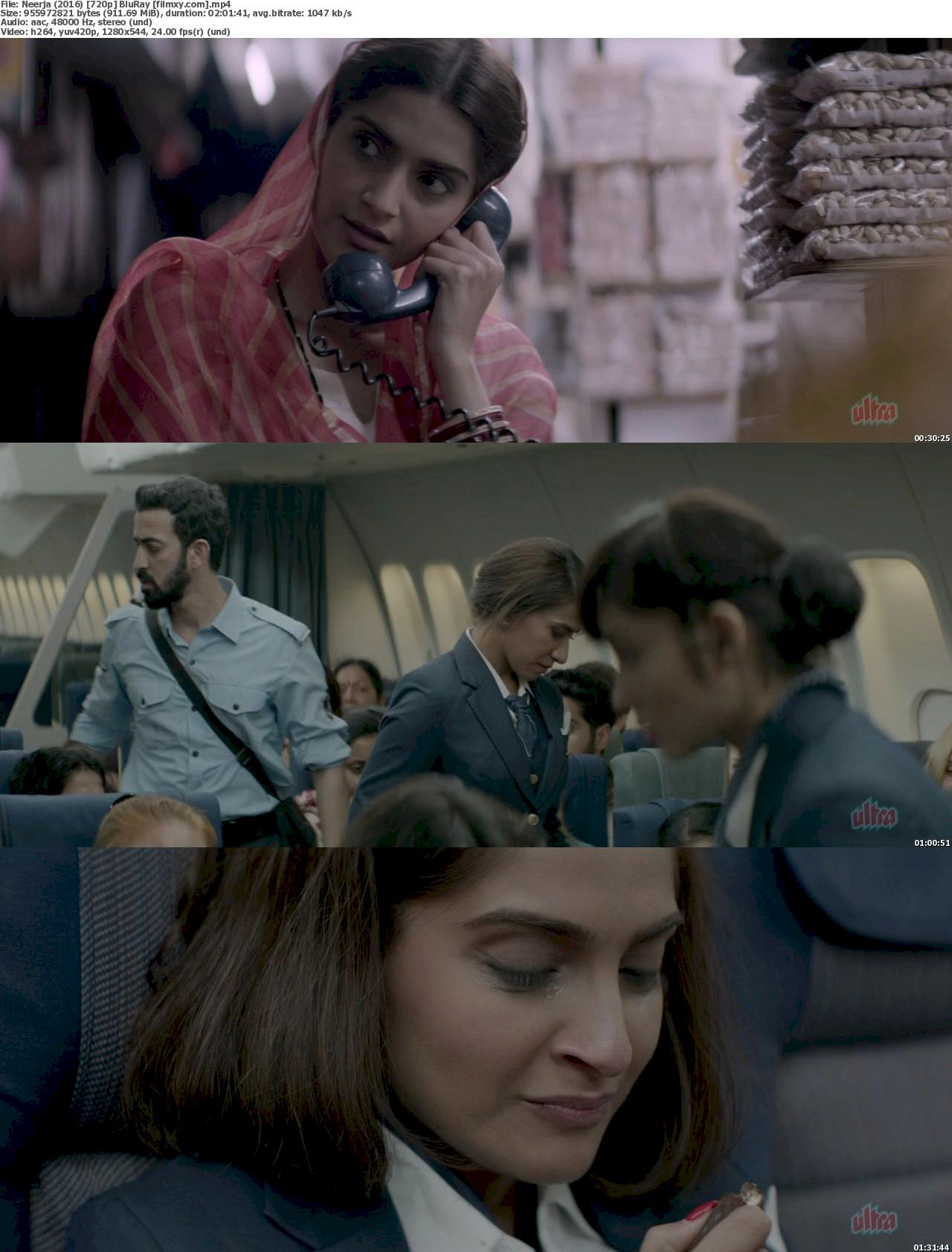 Neerja (2016) 720p BluRay Free Download 720p Screenshot