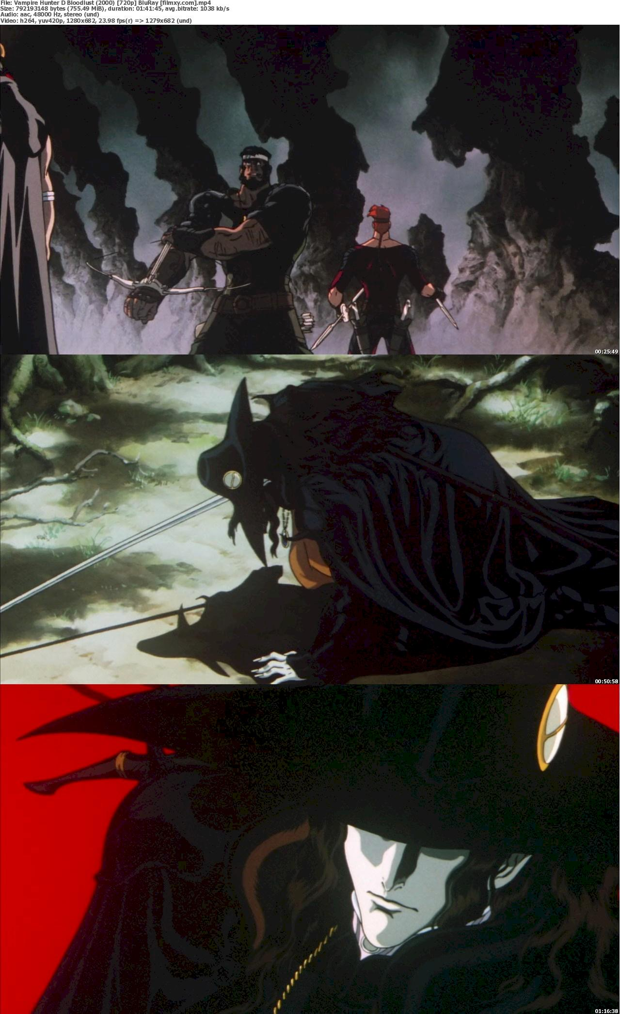 Vampire Hunter D Bloodlust (2000) 720p & 1080p Bluray Free Download 720p Screenshot