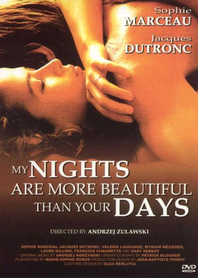 My-Nights-Are-More-Beautiful-Than-Your-Days-(1989)-French-Cover