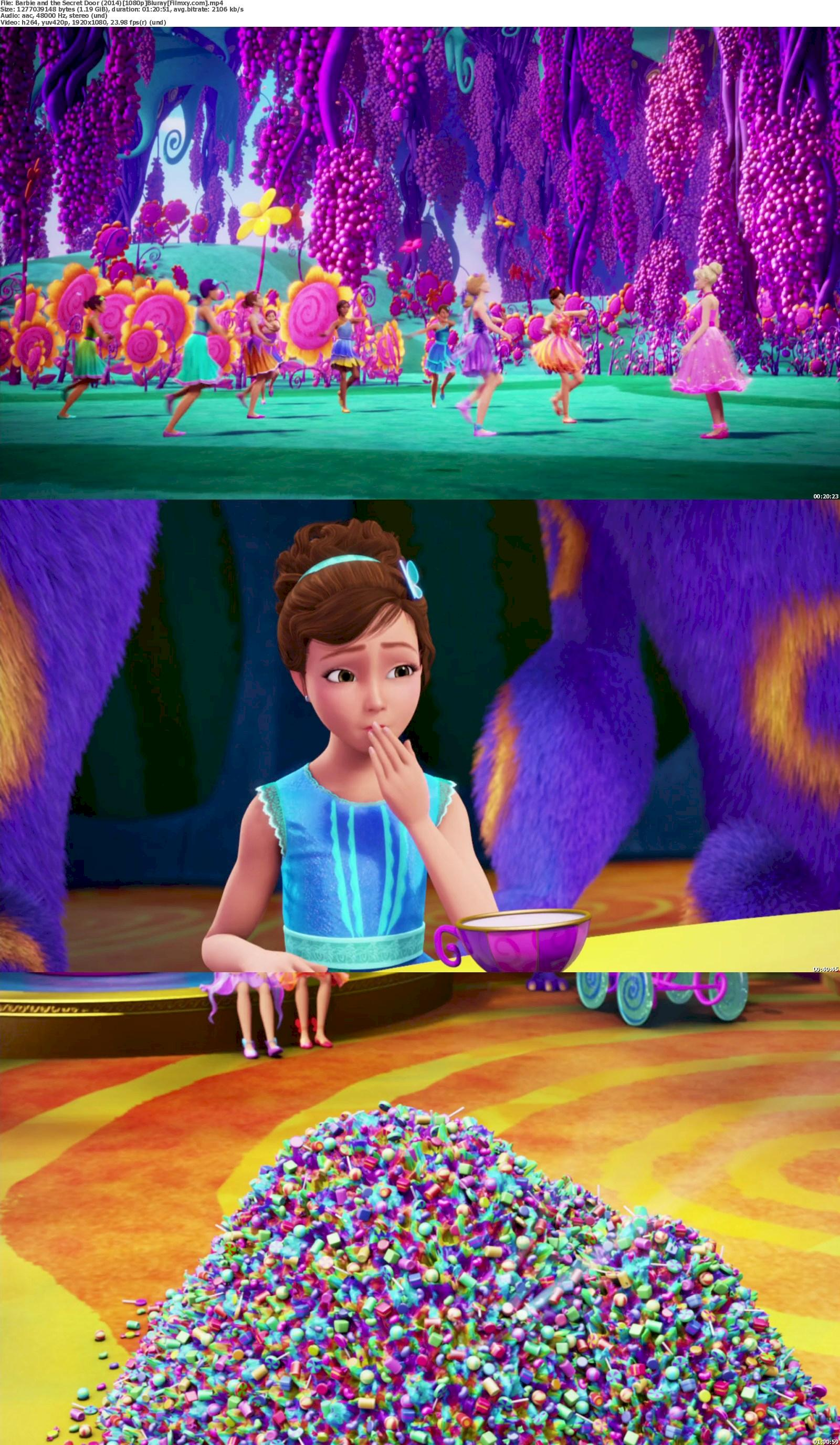 Barbie and the Secret Door (2014) 720p & 1080p Bluray Free Download 1080p Screenshot