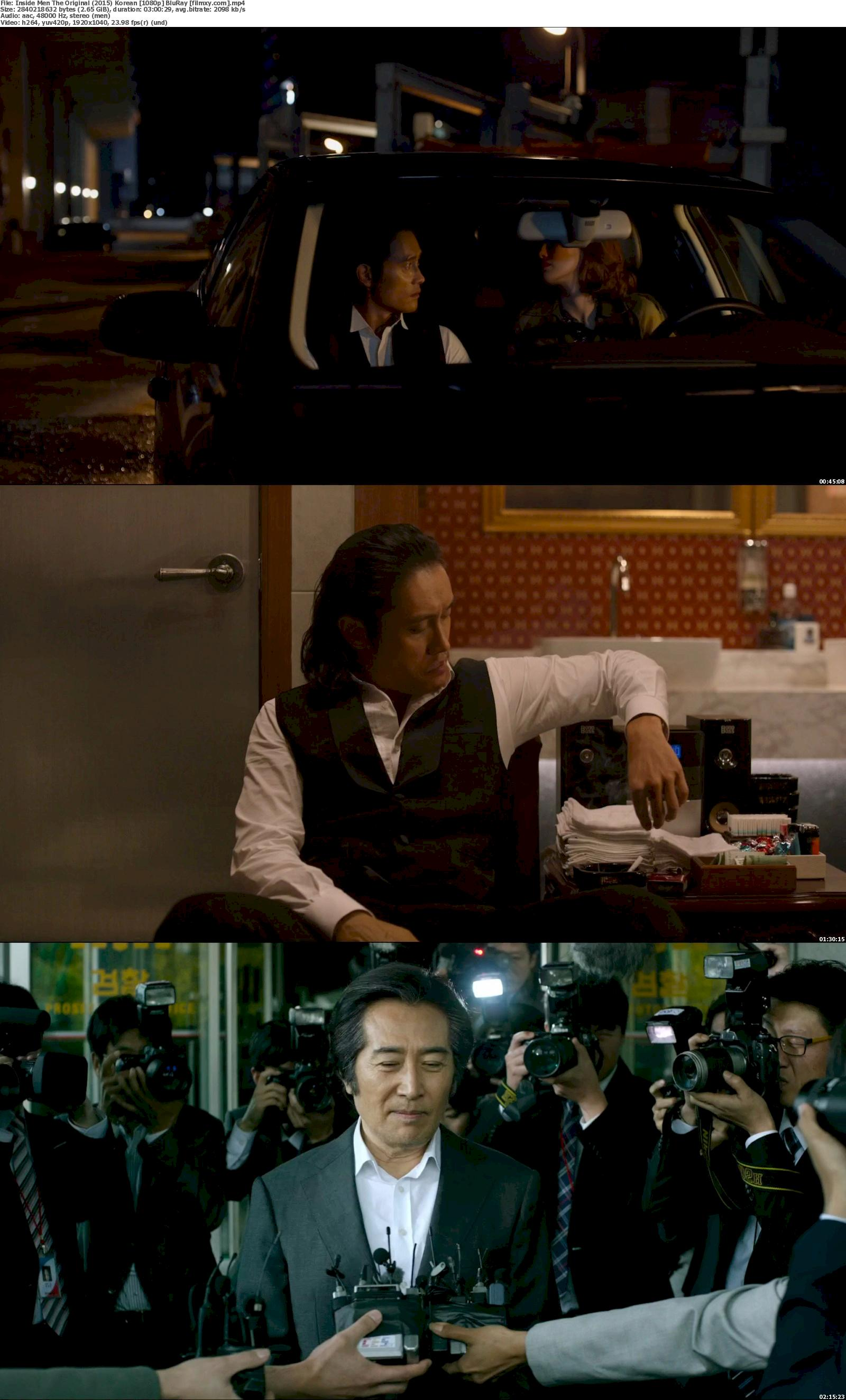 Inside Men The Original (2015) Korean 720p &  1080p BluRay Free Download 1080p Screenshot