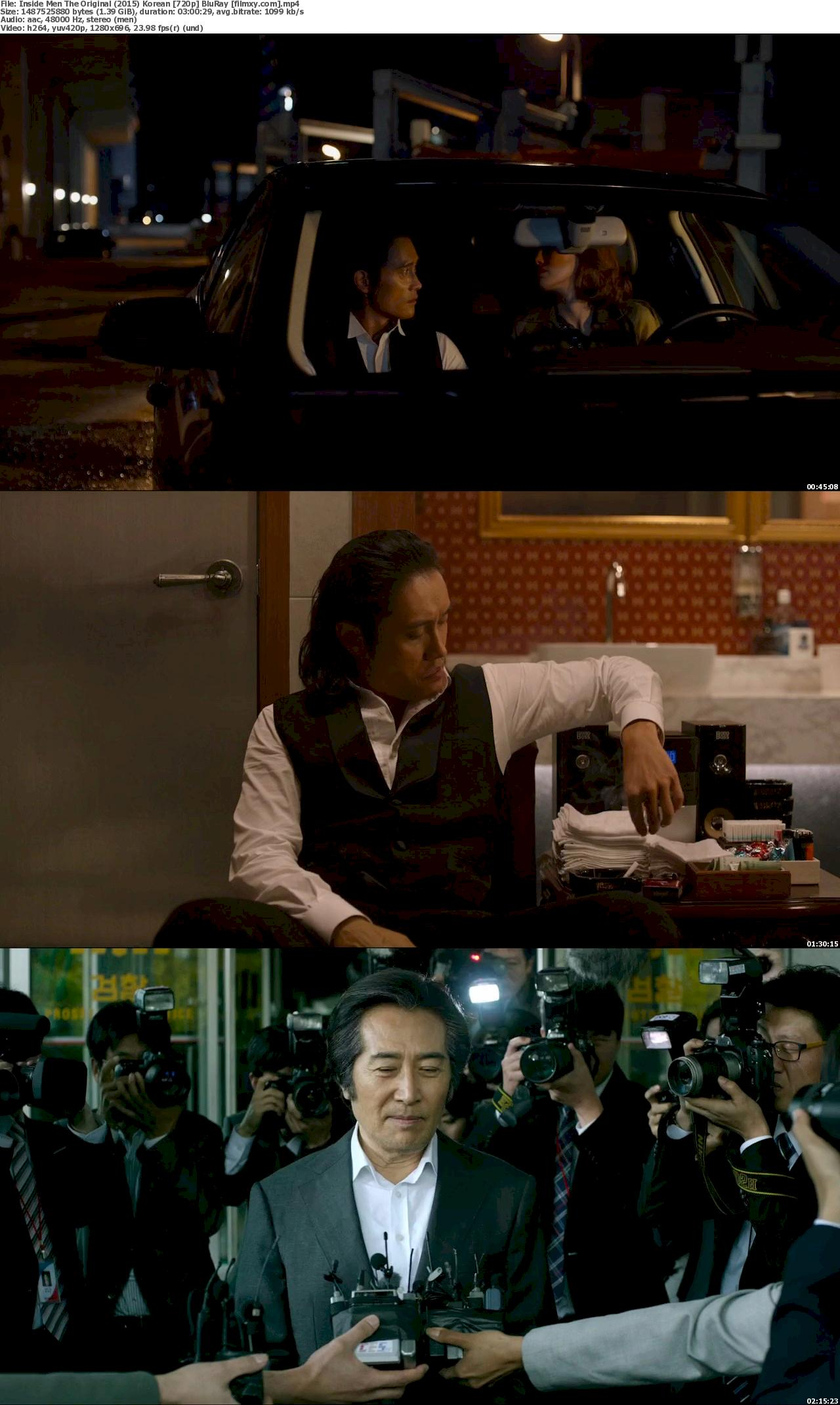 Inside Men The Original (2015) Korean 720p &  1080p BluRay Free Download 720p Screenshot