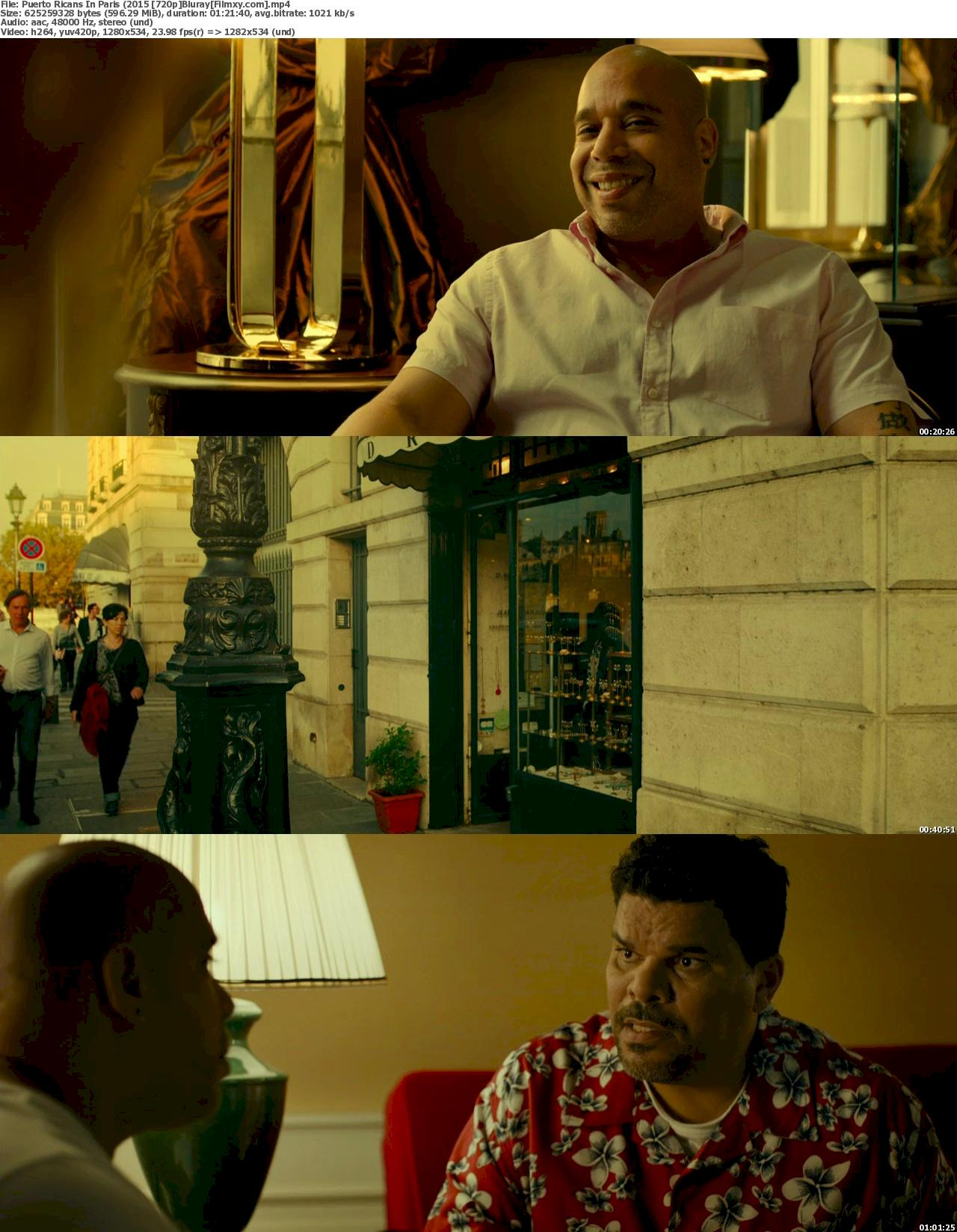 Puerto Ricans in Paris (2015) 720p & 1080p Bluray Free Download 720p Screenshot