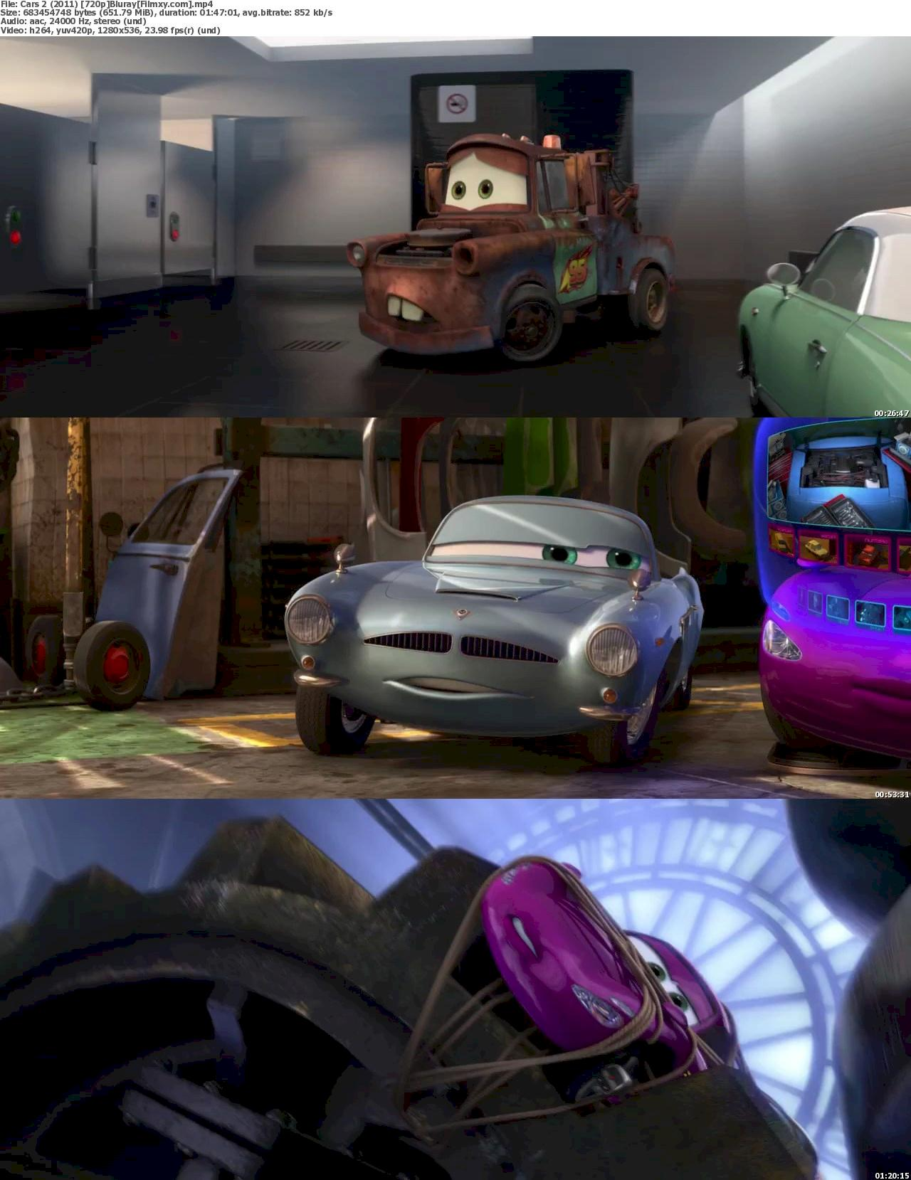 Cars 2 (2011) 720p & 1080p Bluray Free Movies Watch Online 720p Screenshot