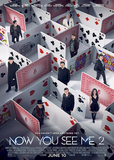 Now You See Me 2 (2016) cover