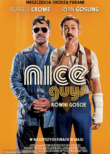 The Nice Guys (2016) cover