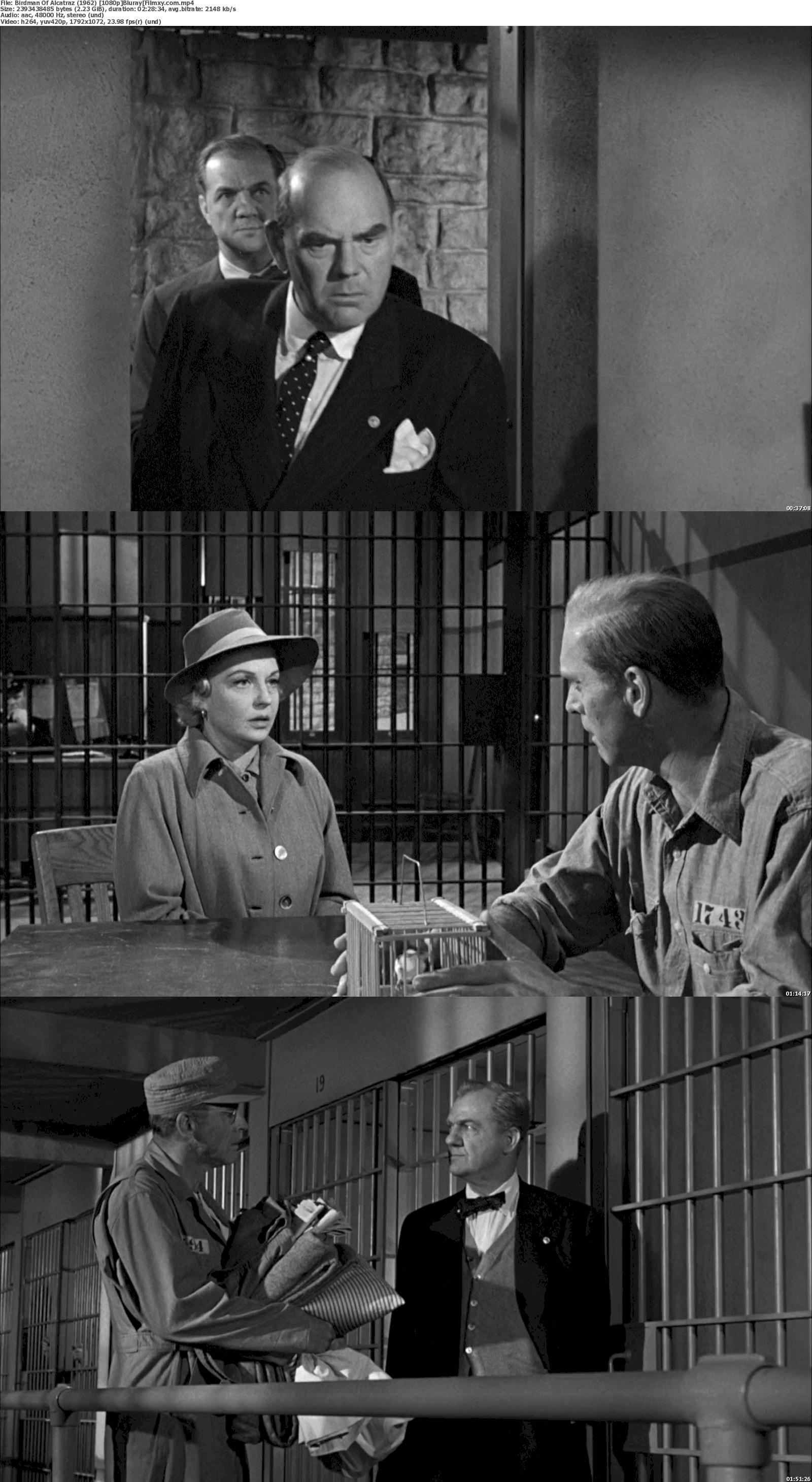 Birdman of Alcatraz (1962) 720p & 1080p Bluray Free Download 1080p Screenshot