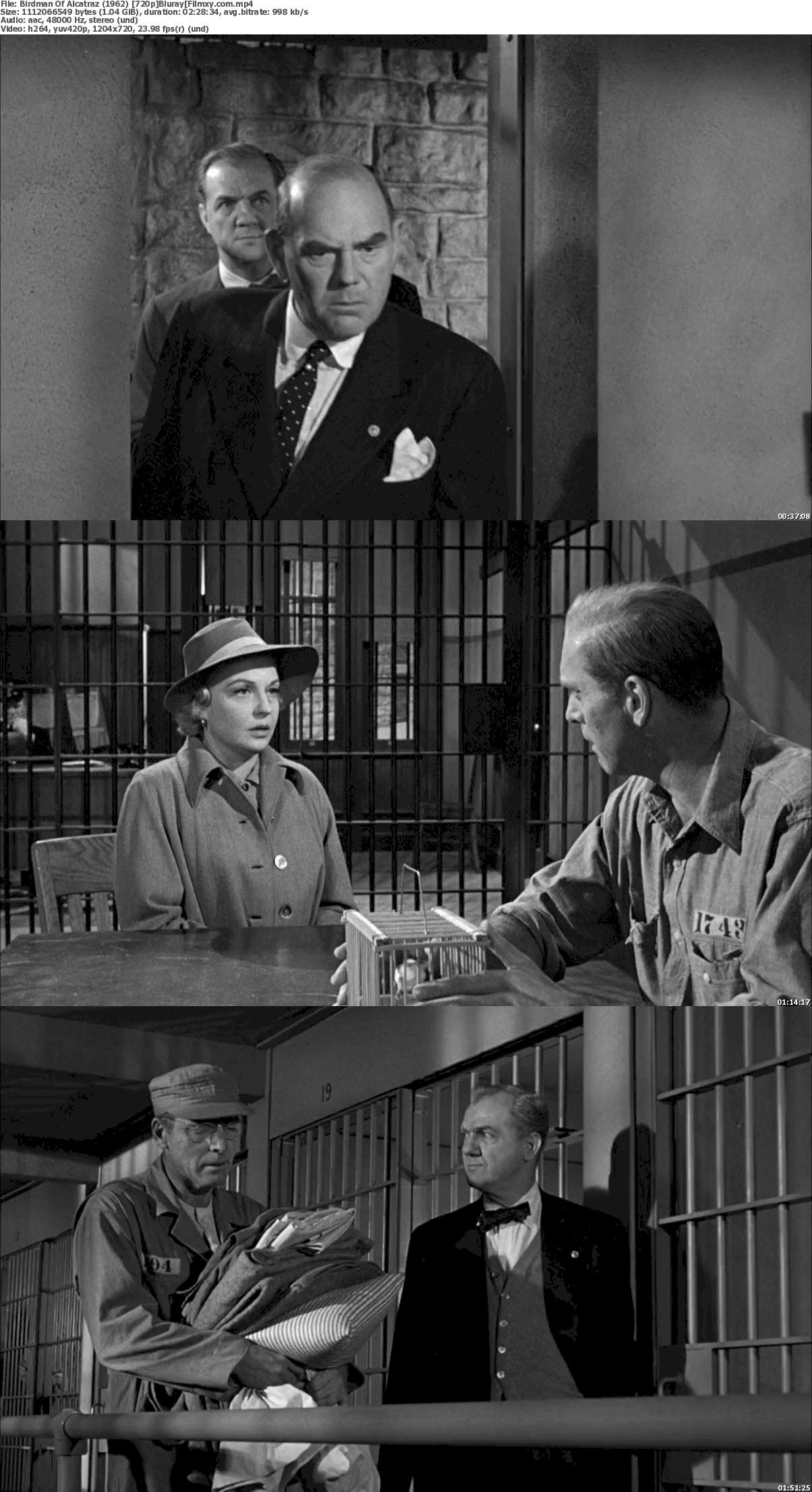 Birdman of Alcatraz (1962) 720p & 1080p Bluray Free Download 720p Screenshot