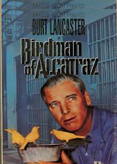 Birdman of Alcatraz (1962) cover