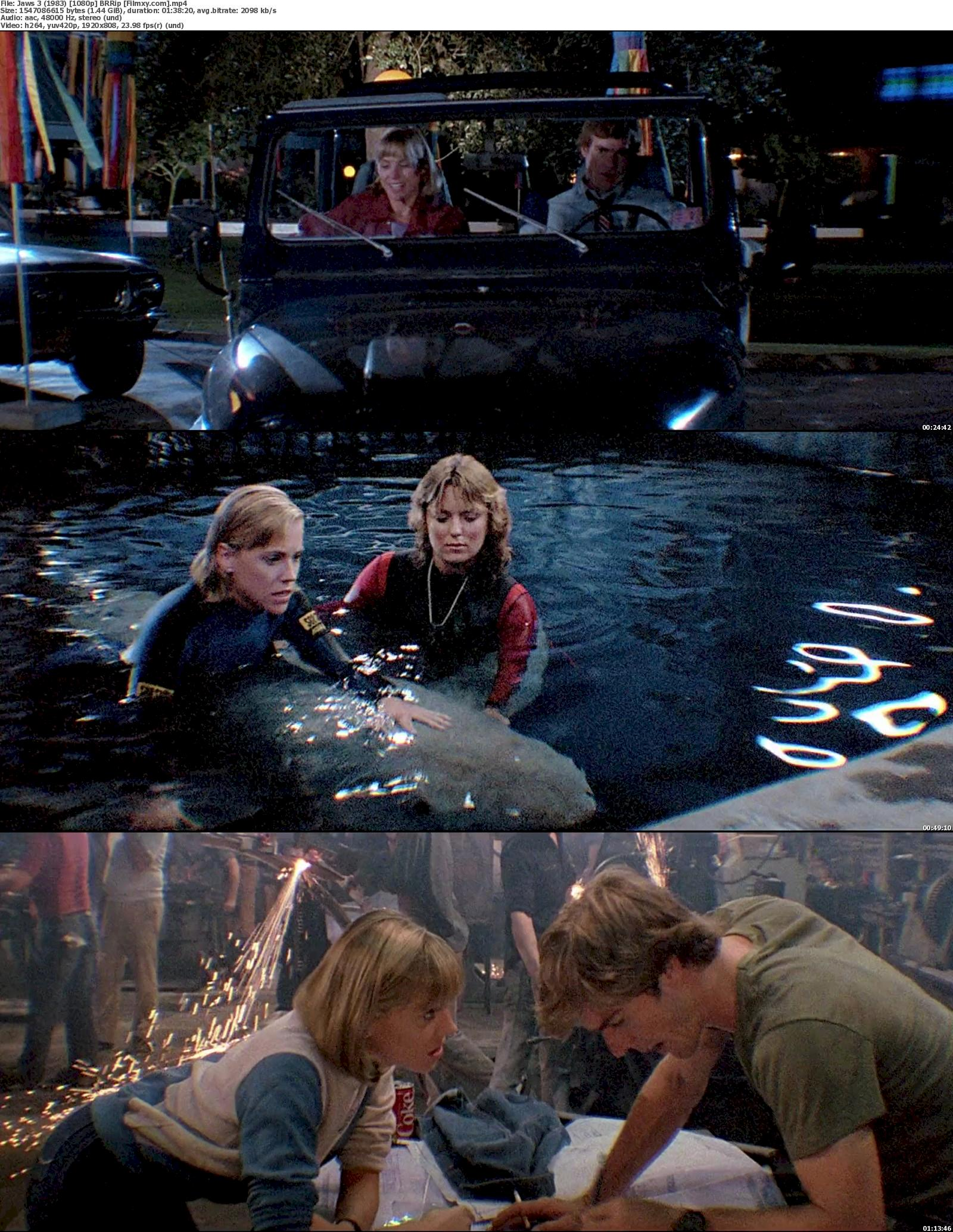 Jaws 3-D (1983) 720p & 1080p BR-Rip Free Download 1080p Screenshot