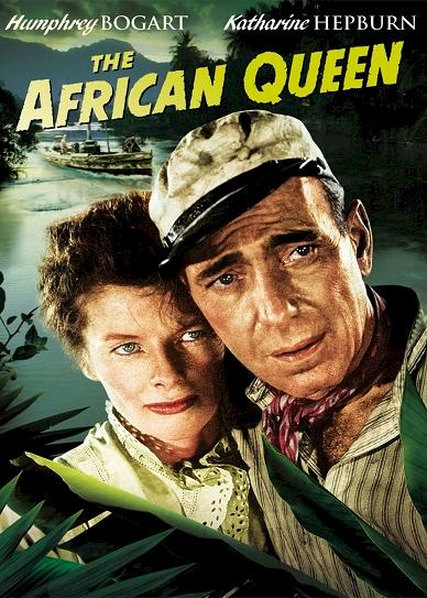 The African Queen (1951) cover