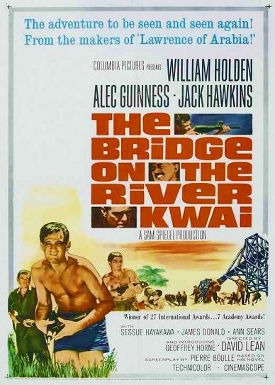The Bridge on the River Kwai (1957) cover