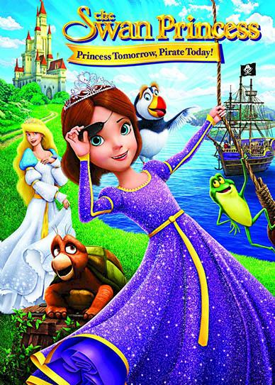 The Swan Princess Princess Tomorrow, Pirate Today! (2016) cover