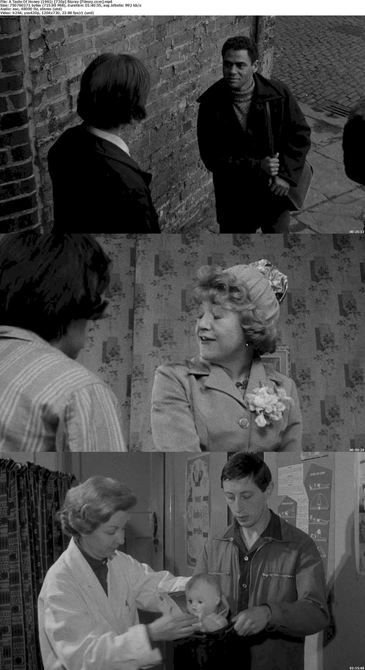 A Taste of Honey (1961) 720p & 1080p Bluray Free Download 720p Screenshot