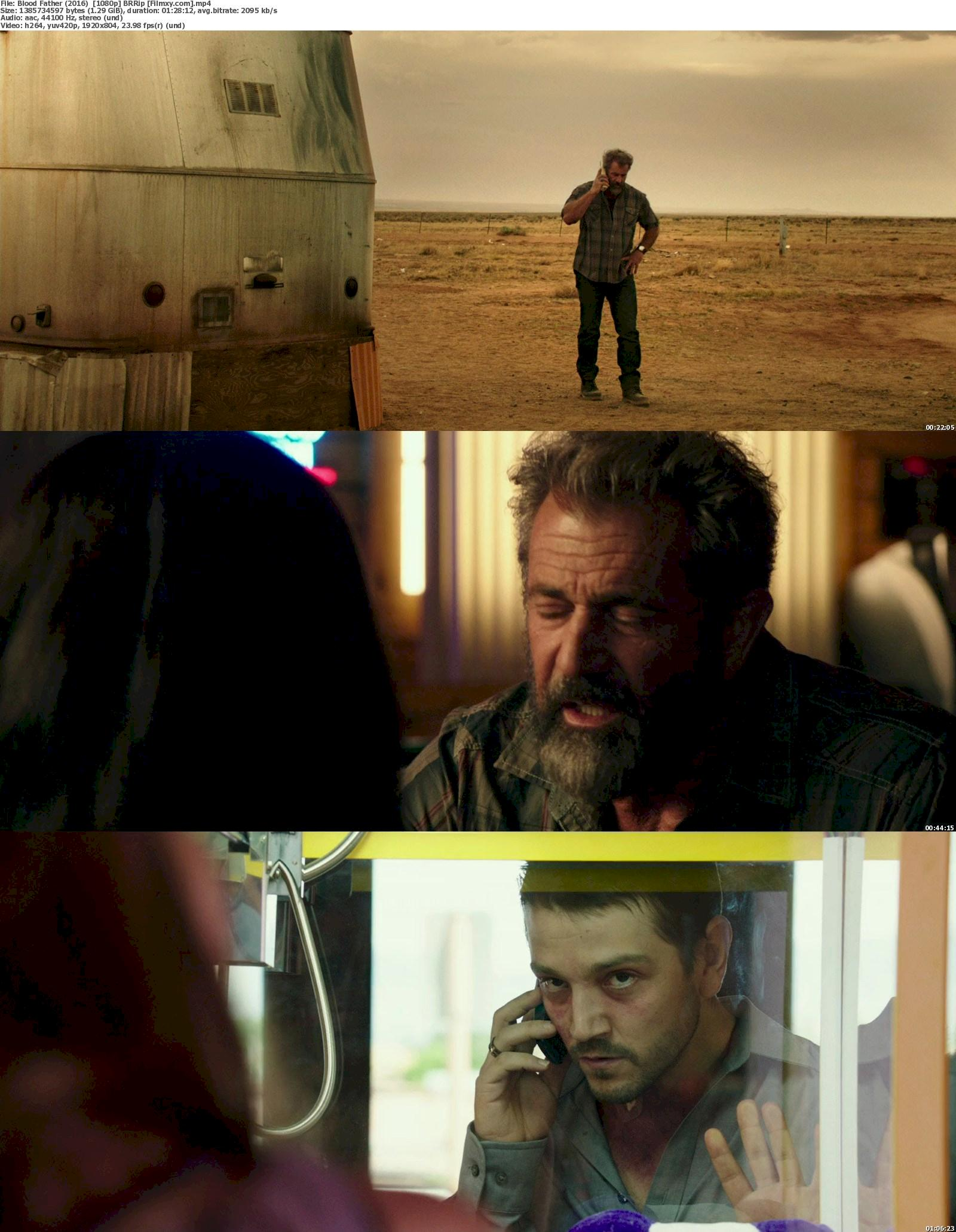 Blood Father (2016) 720p & 1080p Bluray Free Download 1080p Screenshot
