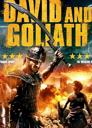 David and Goliath (2016) cover
