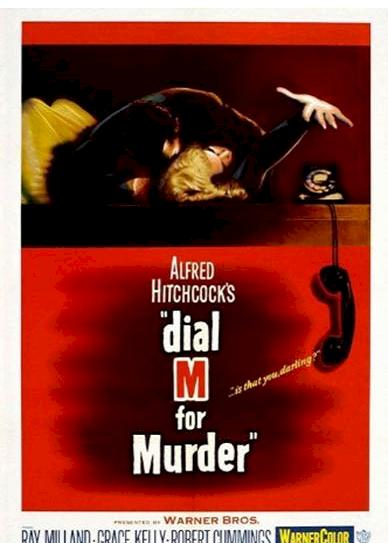 Dial M for Murder (1954) cover