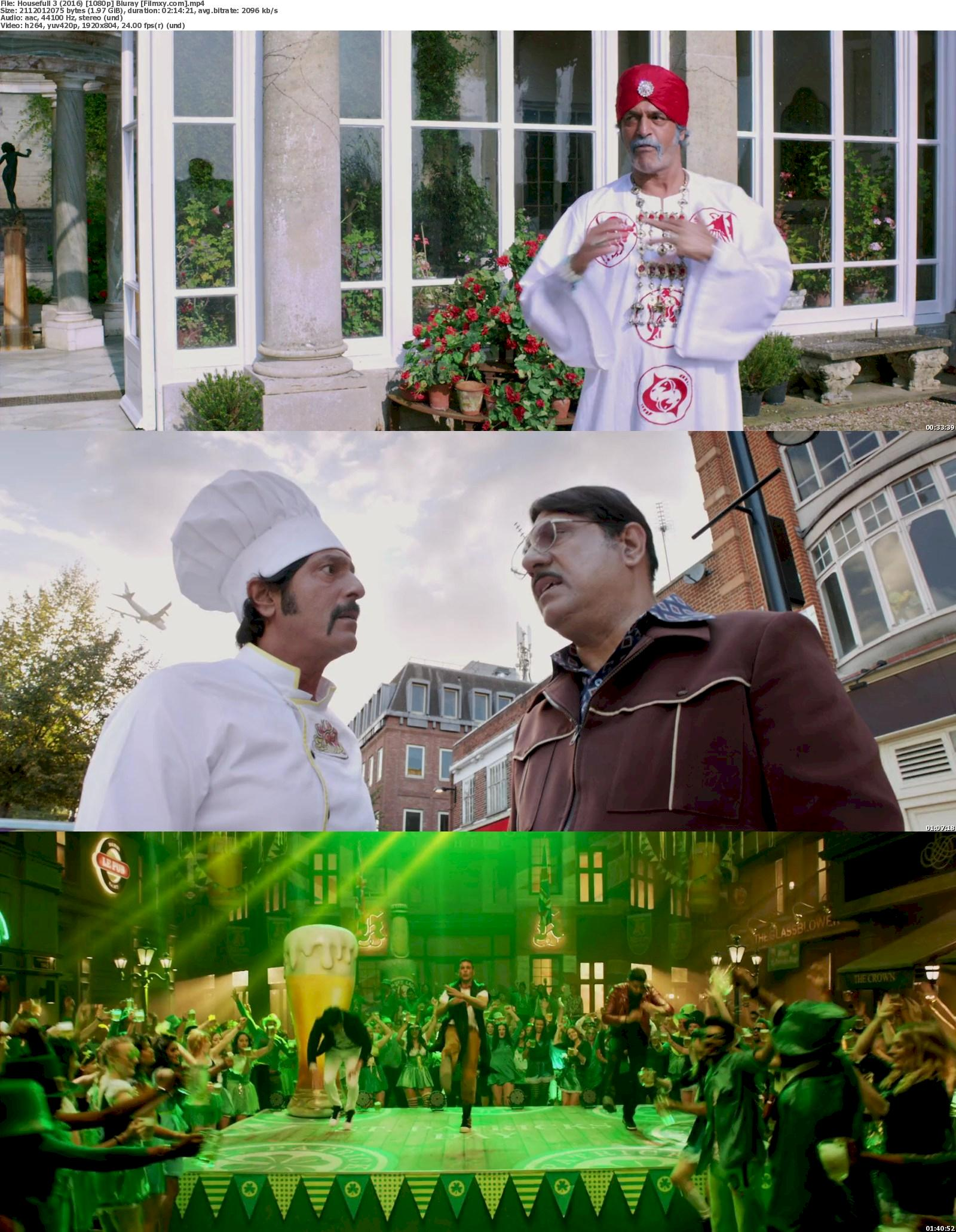 Housefull 3 (2016) 720p & 1080p BR-Rip Free Download 1080p Screenshot