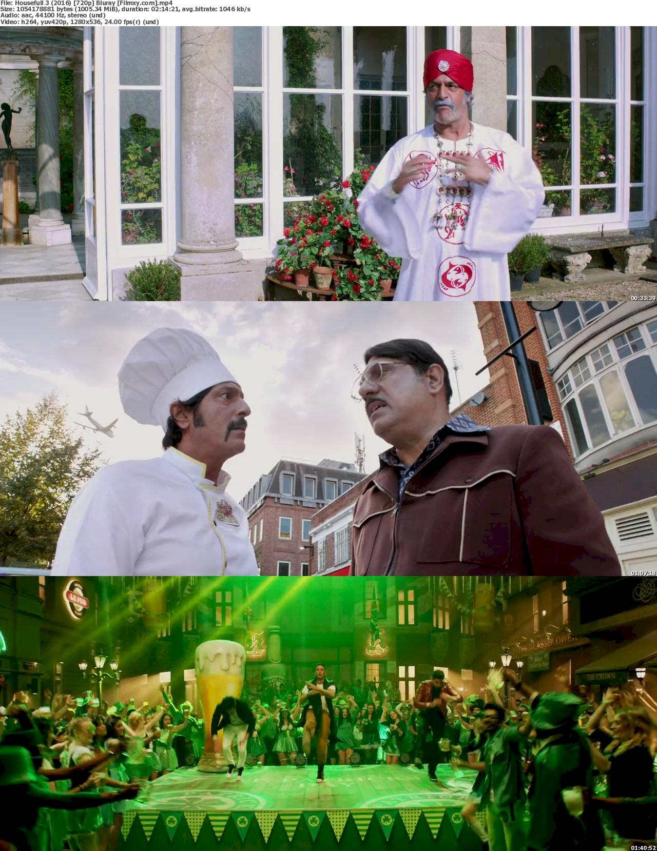 Housefull 3 (2016) 720p & 1080p BR-Rip Free Download 720p Screenshot