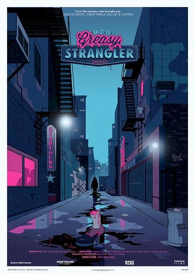 The Greasy Strangler (2016) cover