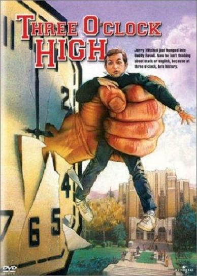 Three O'Clock High (1987) cover