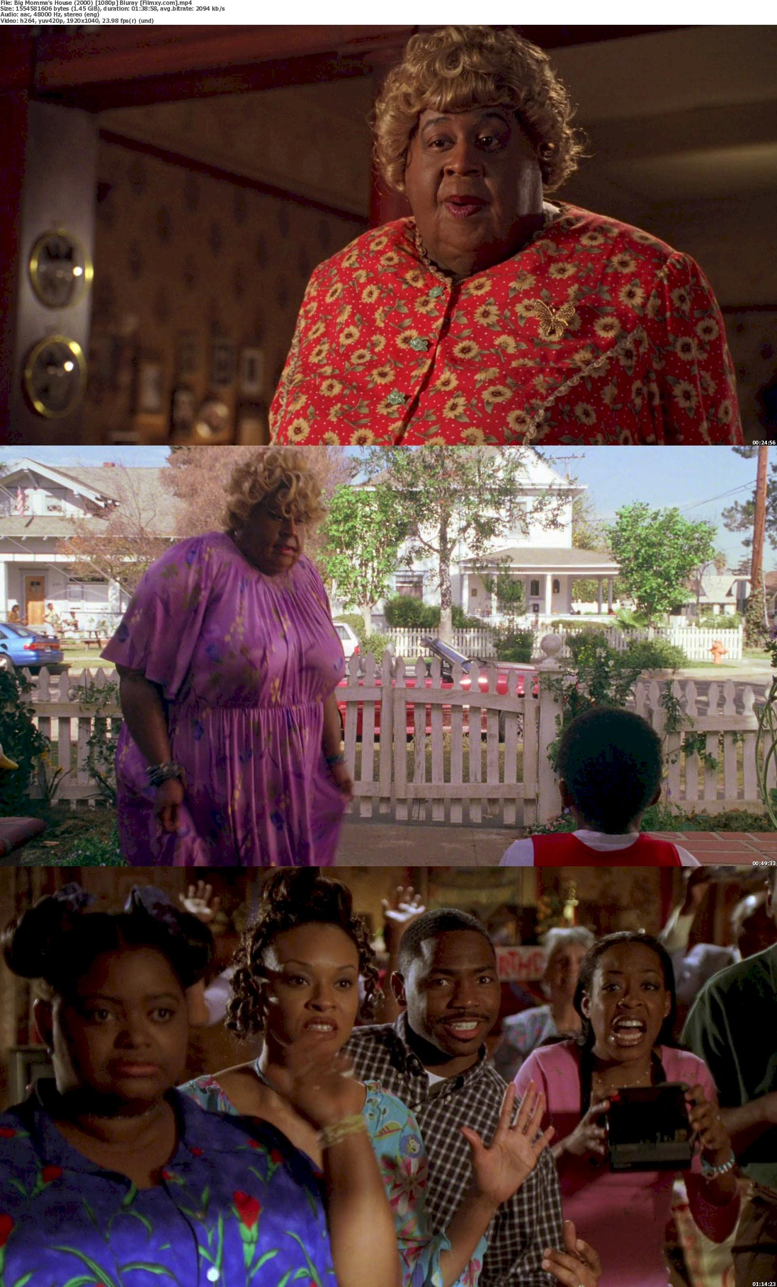 Big Momma's House (2000) [720p & 1080p] Bluray Free Movie Watch Online & Download 1080p Screenshot