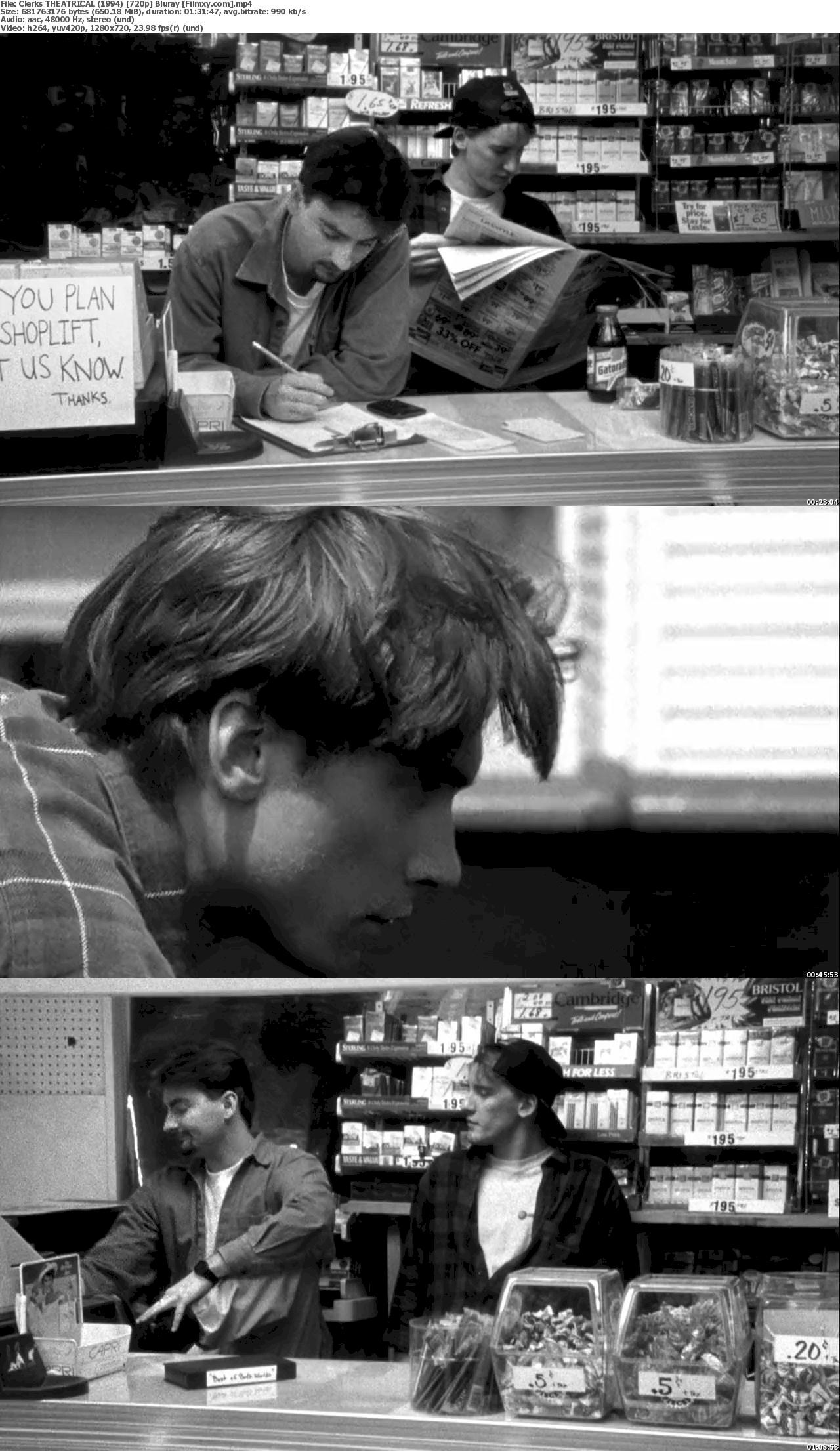 Clerks (1994) 720p & 1080p Bluray Free Download 720p Screenshot