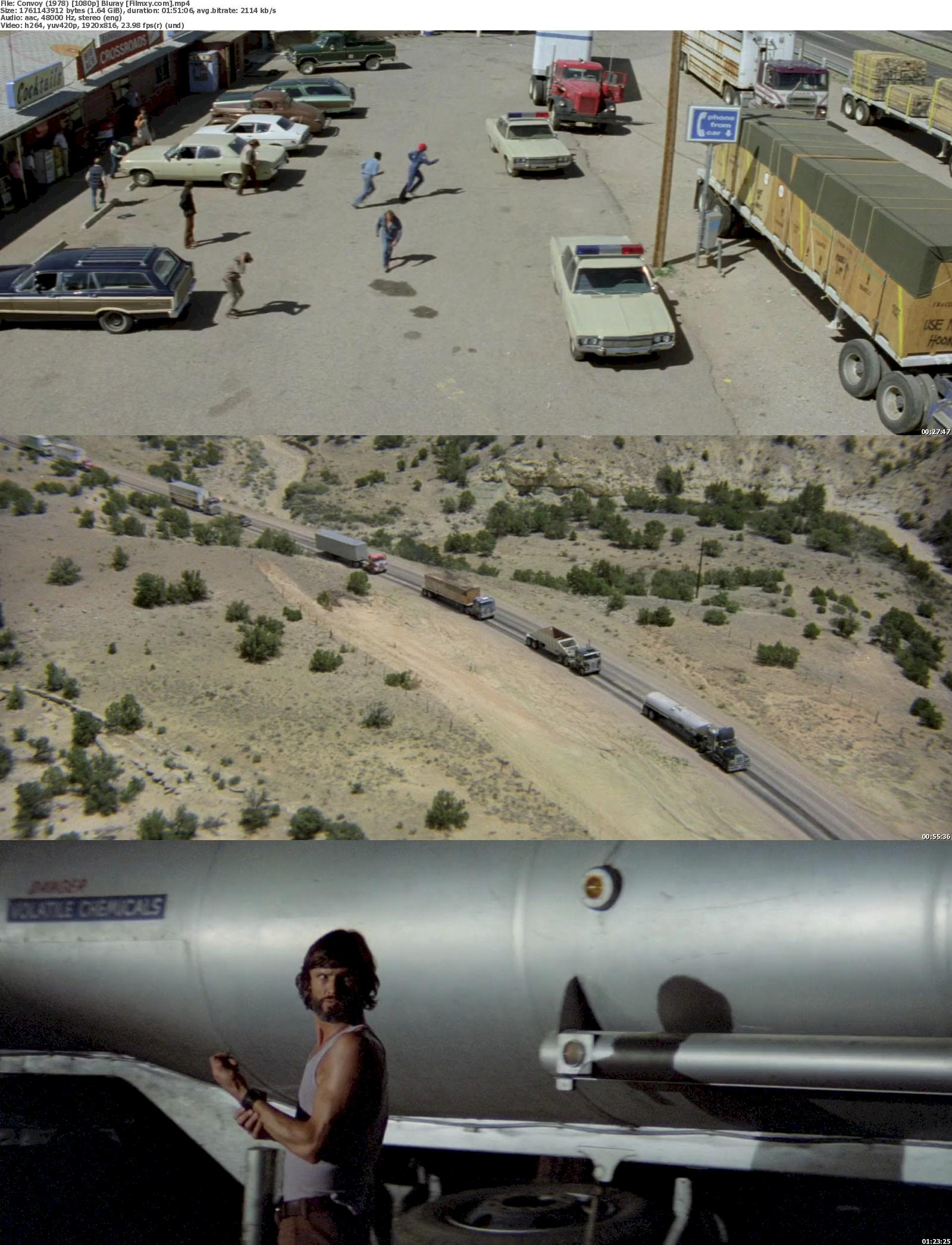 Convoy (1978) 720p & 1080p Bluray Free Download 1080p Screenshot