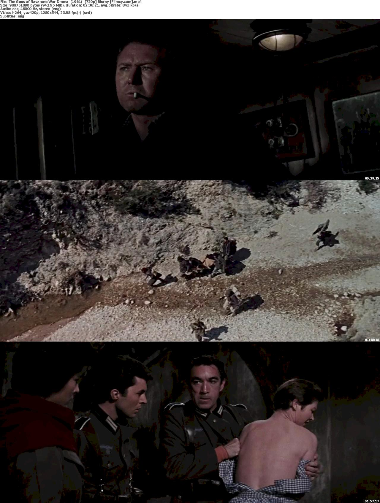 The Guns of Navarone (1961) 720p Bluray Free Download 720p Screenshot