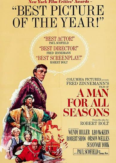 A Man for All Seasons (1966) cover