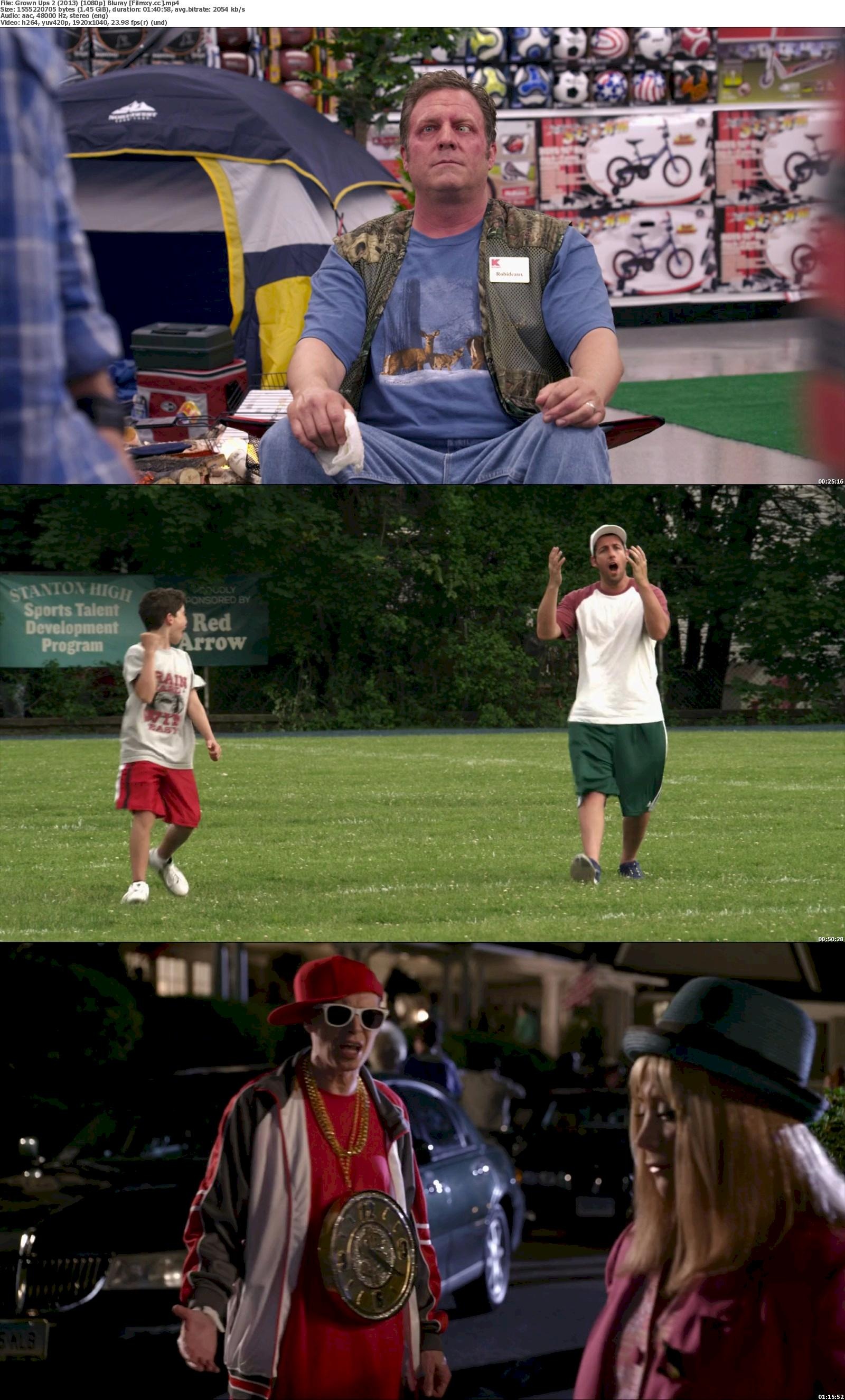 Grown Ups 2 (2013) 720p & 1080p Bluray Free Download 1080p Screenshot