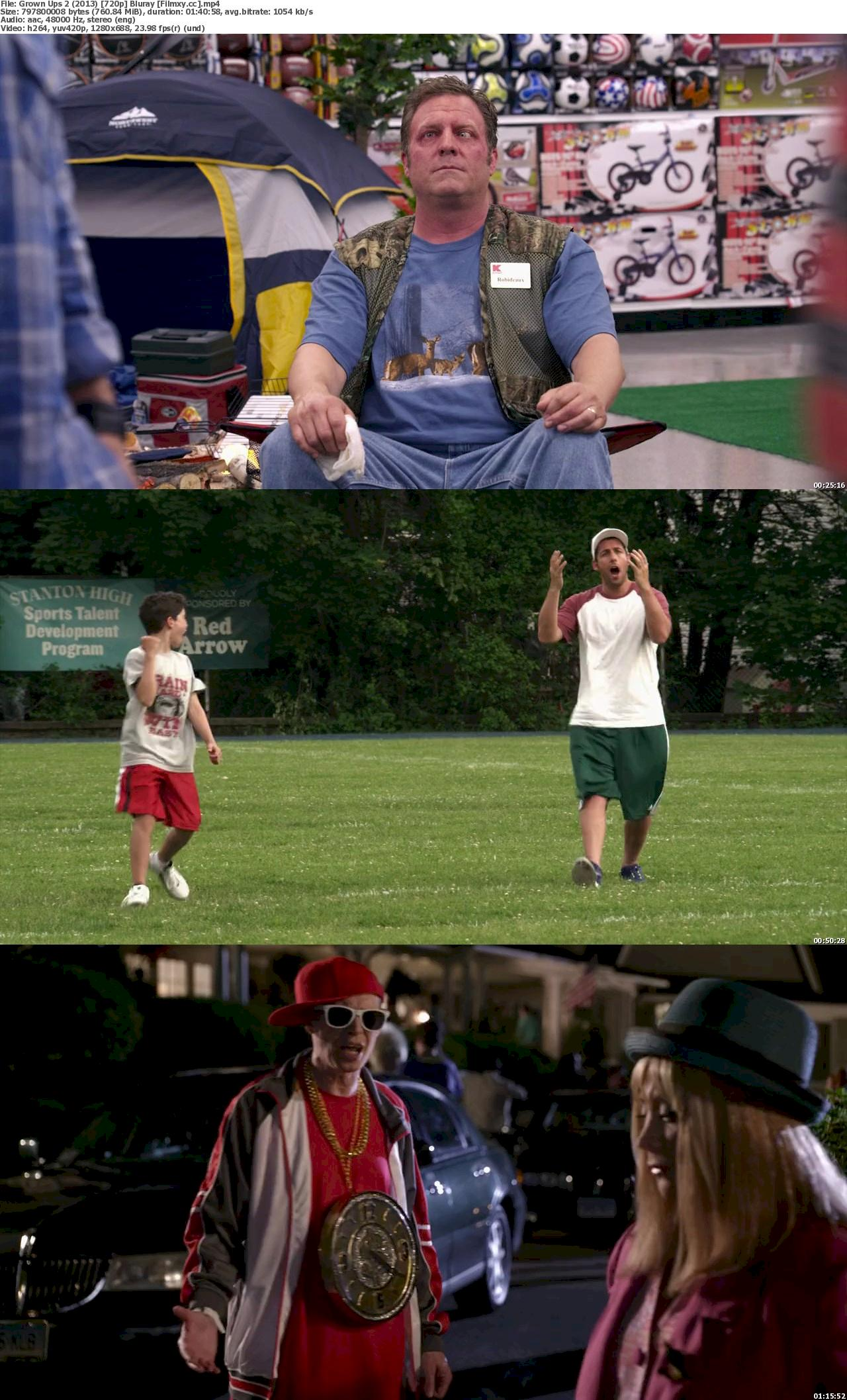 Grown Ups 2 (2013) 720p & 1080p Bluray Free Download 720p Screenshot