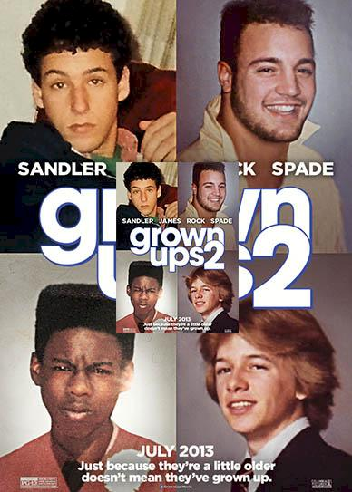 Grown Ups 2 (2013) cover