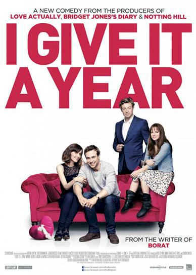 I Give It A Year (2013) cver
