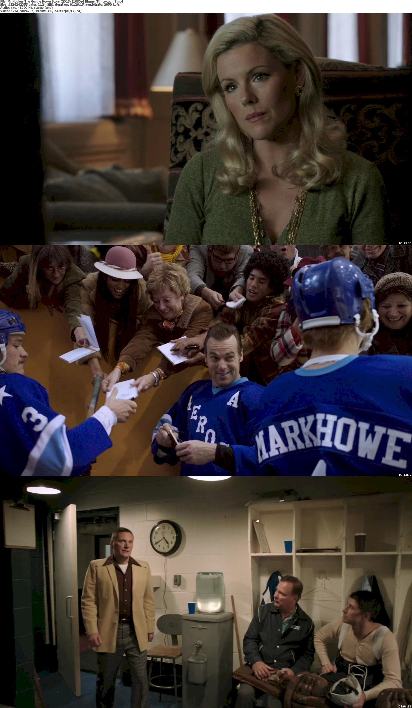 Mr. Hockey: The Gordie Howe Story (2013) 720p & 1080p Bluray Free Download 1080p Screenshot