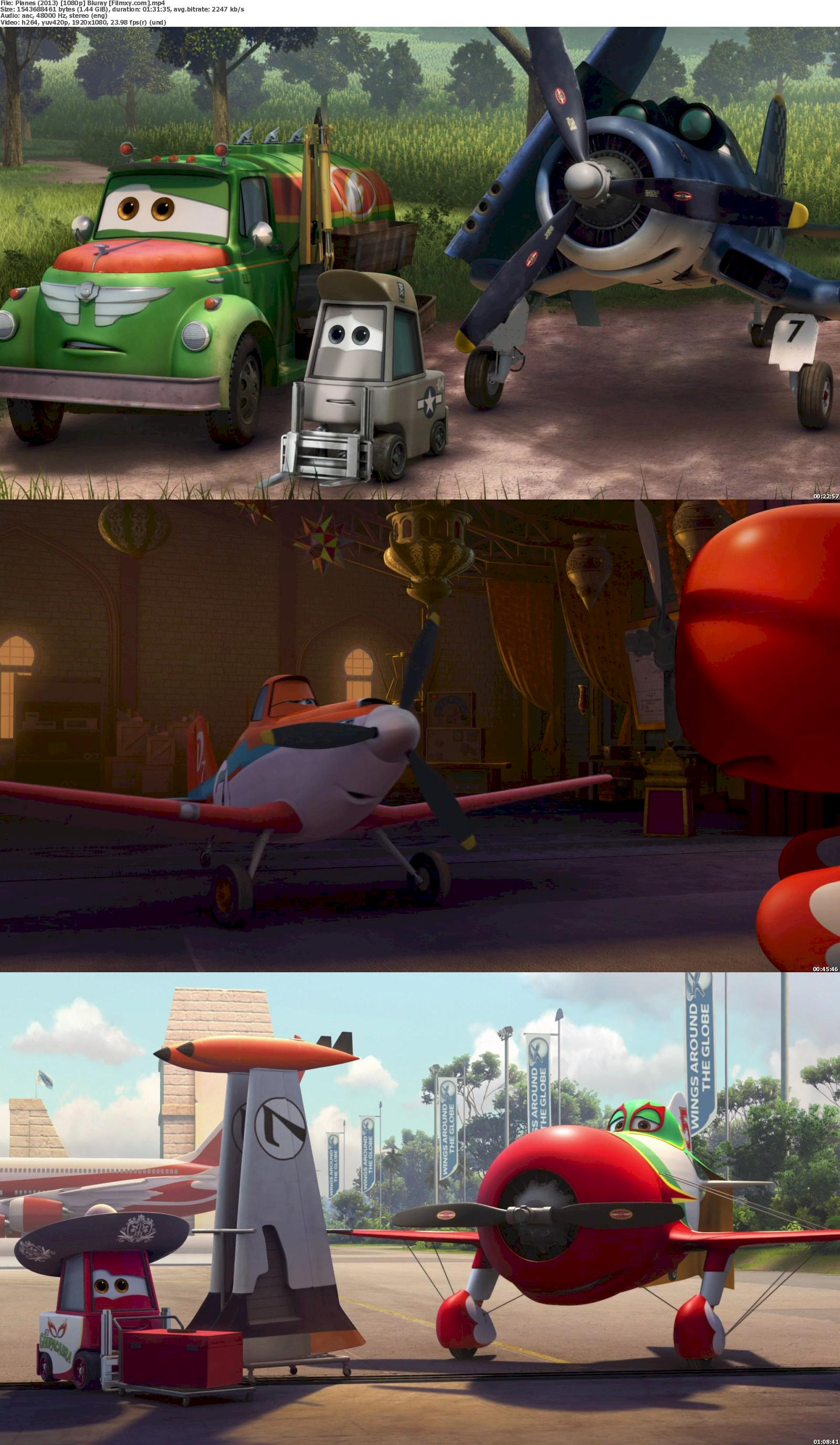 Planes (2013) 720 & 1080p Bluray Free Download 1080p Screenshot