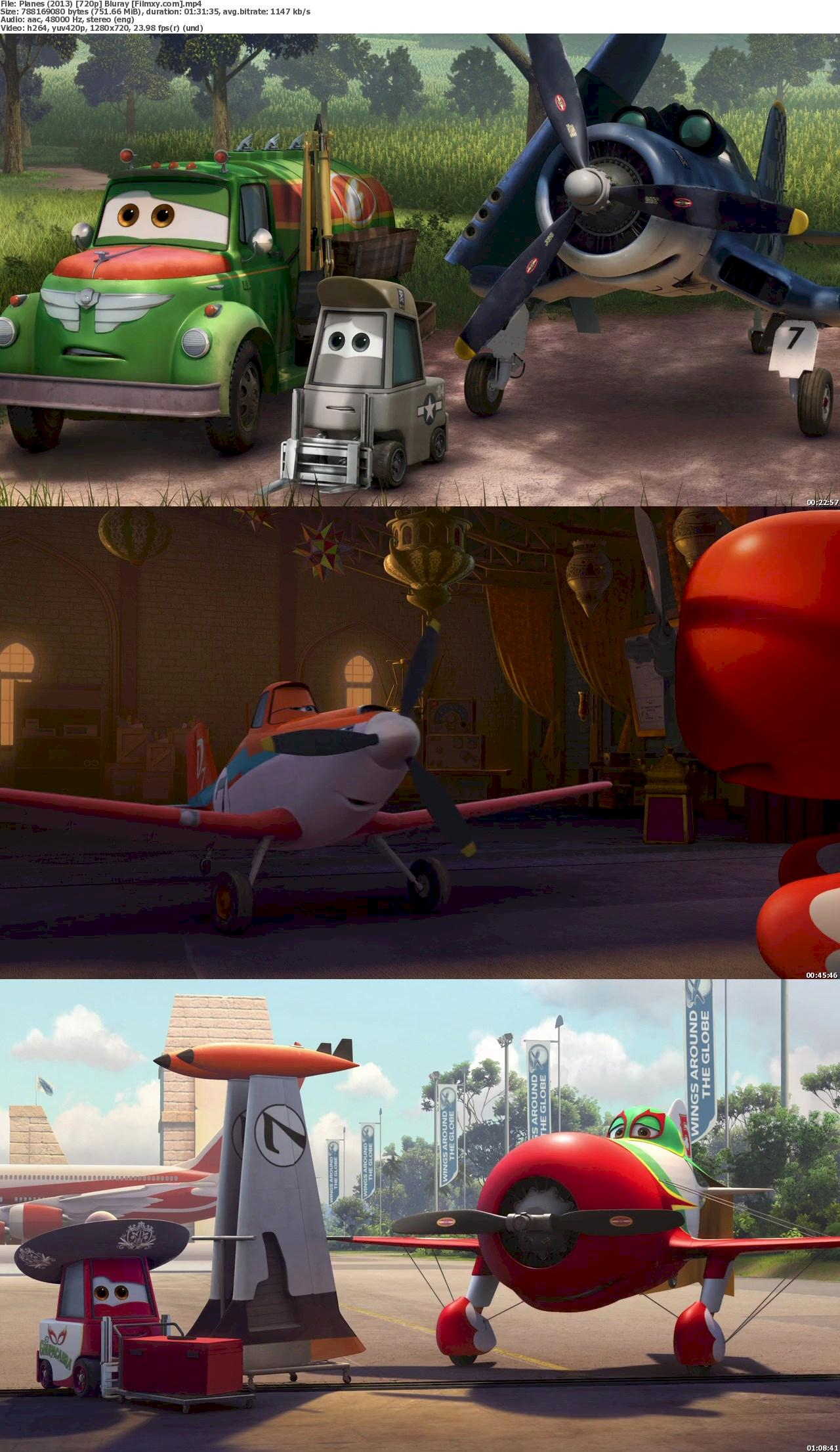 Planes (2013) 720 & 1080p Bluray Free Download 720p Screenshot
