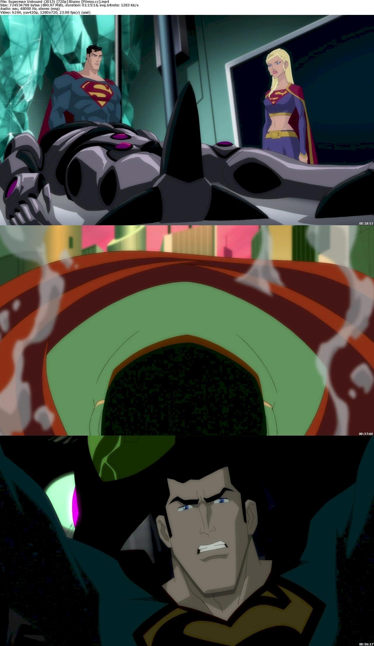 Superman: Unbound (2013) 720p & 1080p Bluray Free Download 720p Screenshot