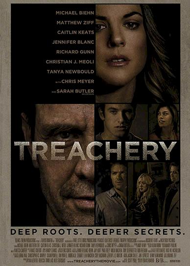 Treachery (2013) cover