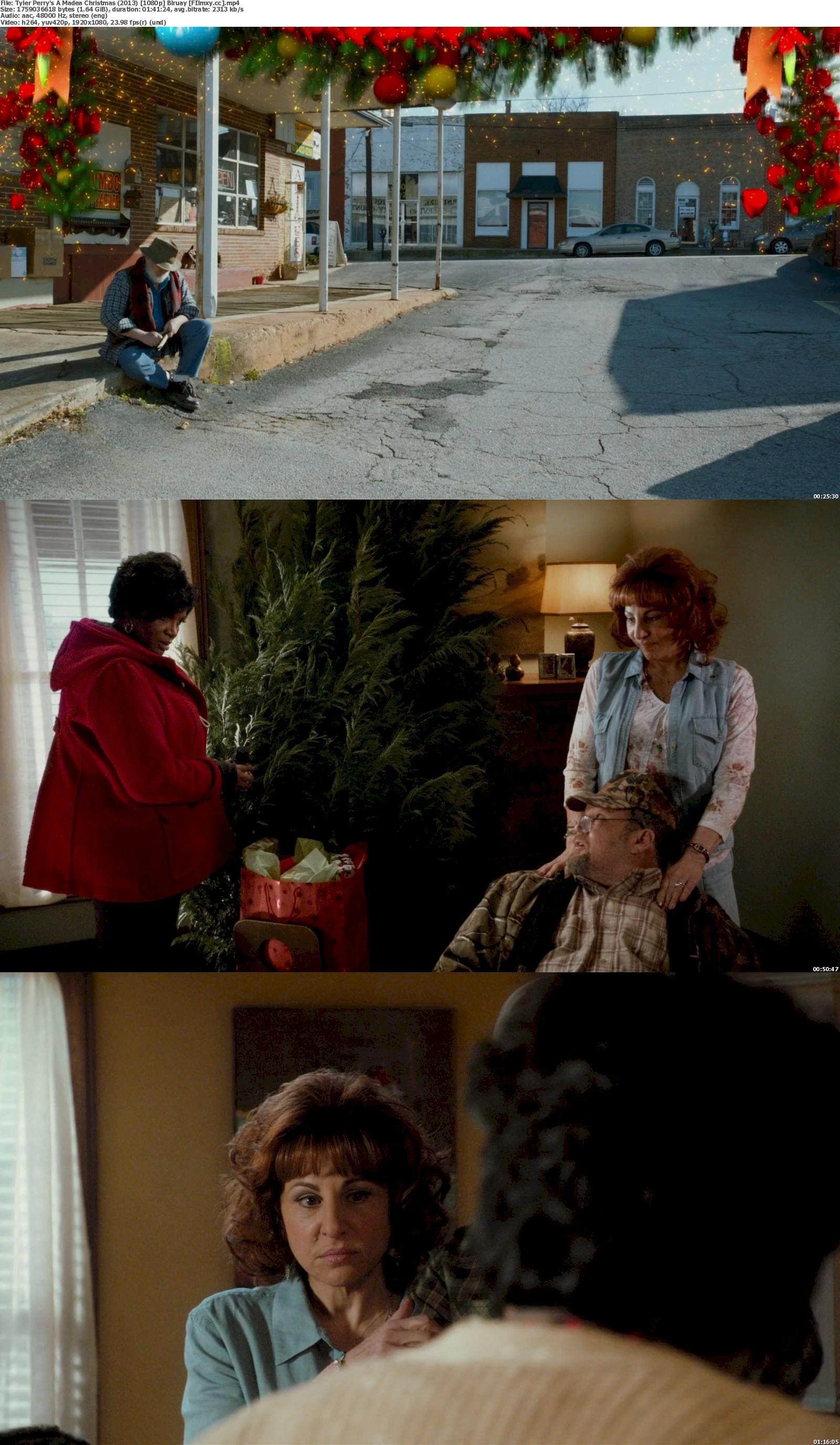 A Madea Christmas (2013) 720p & 1080p Bluray Free Download 1080p Screenshot
