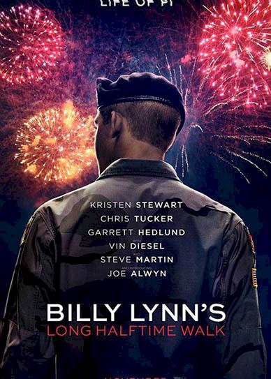 Billy Lynn's Long Halftime Walk (2016) cover